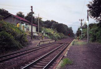 JR函館本線・姫川駅(北海道:2001年8月)