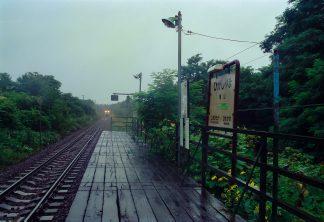 JR函館本線・東山駅(北海道:2001年8月)