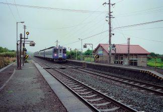 JR函館本線・北豊津駅(北海道:2001年8月)