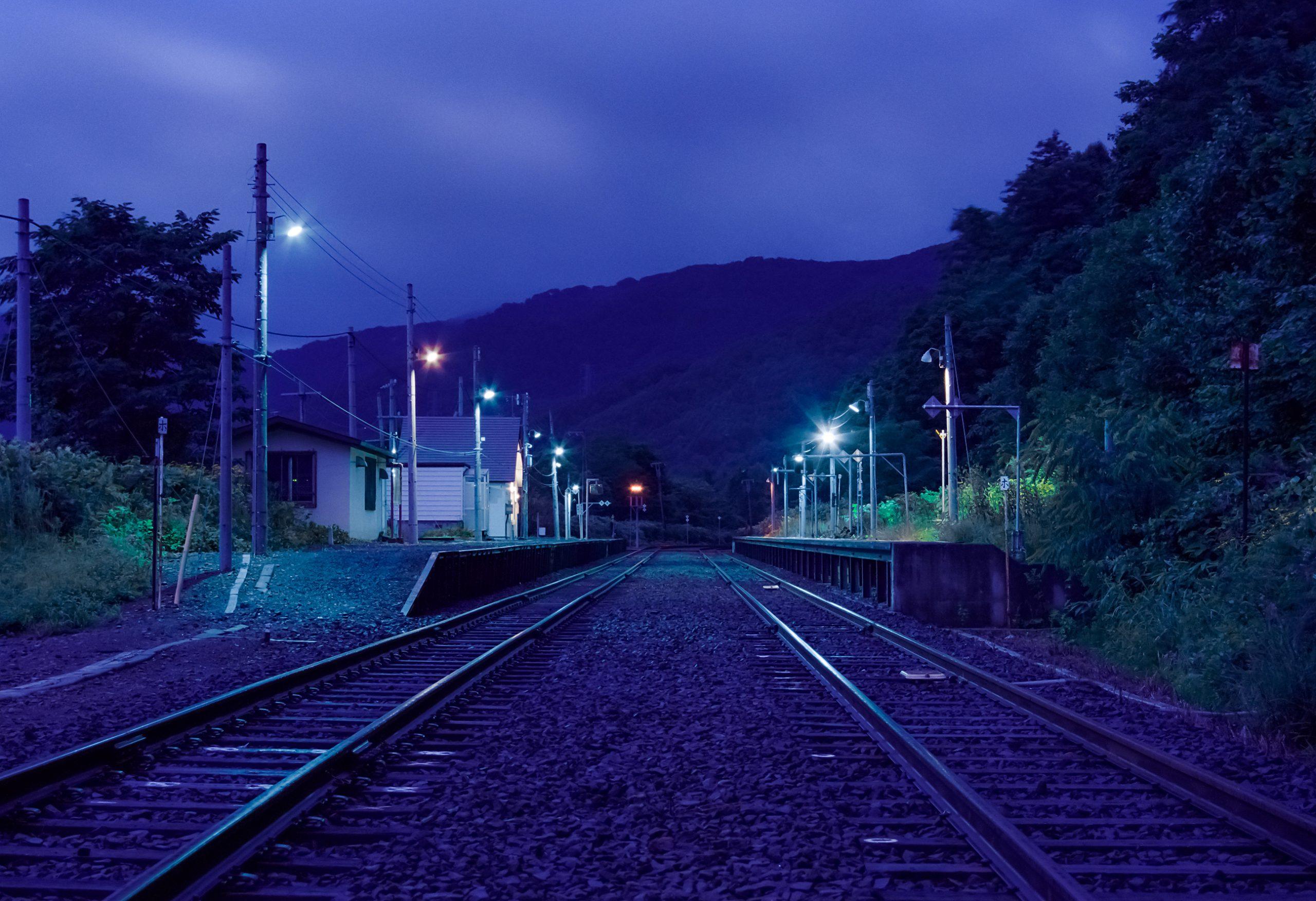 JR函館本線・銀山駅(北海道:2001年8月)