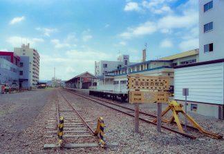JR宗谷本線・稚内駅(北海道:2001年8月)