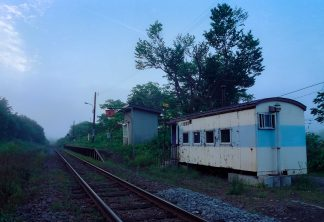 JR宗谷本線・智東駅(北海道:2001年8月)