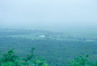 釧路湿原・細岡展望台(北海道:2001年8月)
