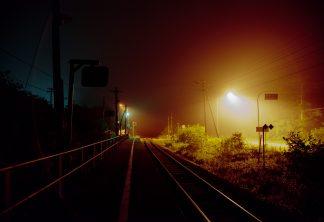 JR根室本線・昆布盛駅(北海道:2001年8月)