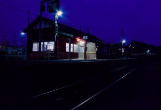 JR釧網本線・藻琴駅(北海道:2001年8月)