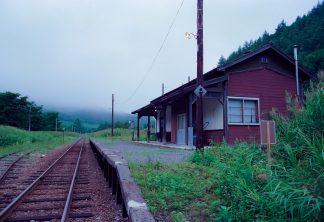 ちほく高原鉄道・川上駅(北海道:2001年8月)