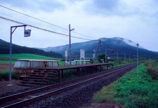 JR石北本線・生野駅(北海道:2001年8月)