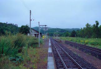 JR石北本線・金華駅(北海道:2001年8月)
