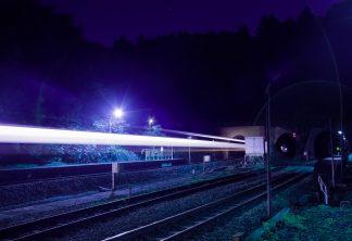 JR室蘭本線,小幌駅(北海道:2001年8月)
