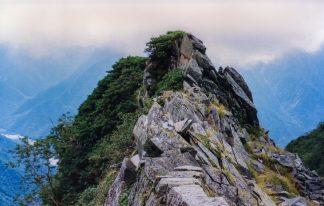 飛騨山脈・西穂高岳付近(長野県:2001年9月)