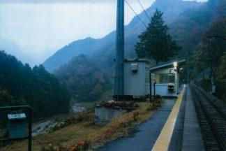 JR飯田線・金野駅(長野県:2001年11月)