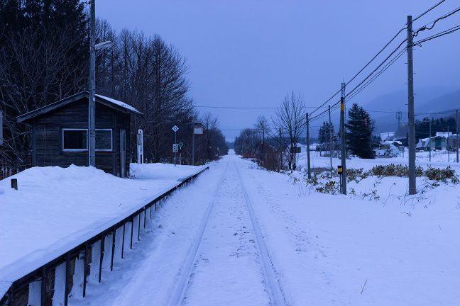 新年を迎えたこの日も、北辺の空は、雪雲に覆われていた