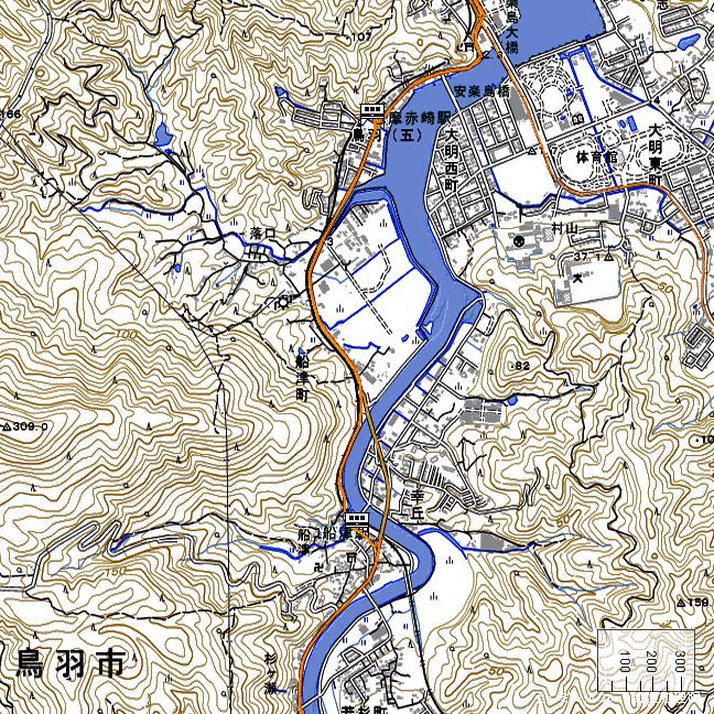 ルート図:志摩赤崎~船津間