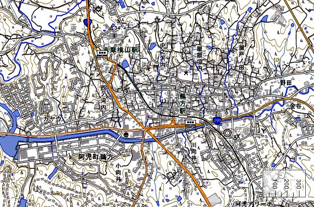 ルート図:志摩横山~鵜方間
