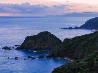 土佐湾・横浪半島(高知県:2002年8月)