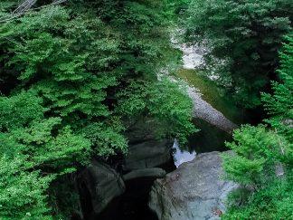 面河渓(愛媛県:2002年8月)