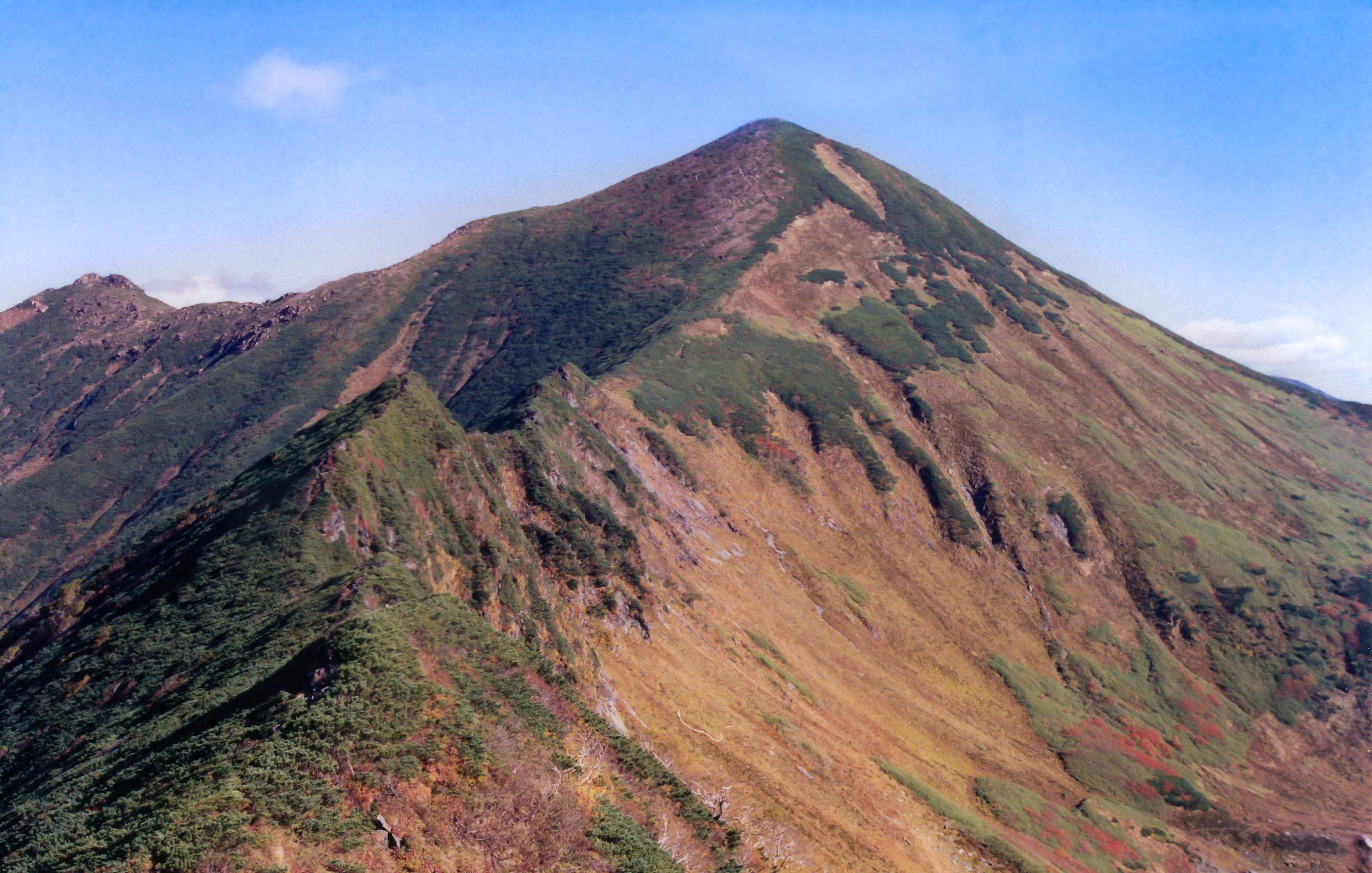 日高山脈・戸蔦別岳(北海道:2002年9月)