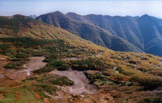 日高山脈・七つ沼カール(北海道:2002年9月)