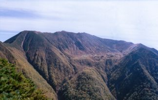 日高山脈・幌尻岳(北海道:2002年9月)