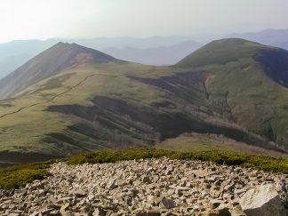 天塩山地・天塩岳(北海道:2002年10月)