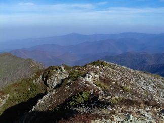 天塩山地・前天塩岳(北海道:2002年10月)