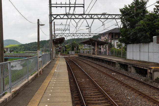 松尾駅では再び賀茂川沿いに出る