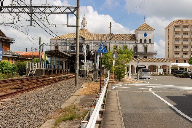 志摩磯部駅は志摩市街地にあり相対式ホーム