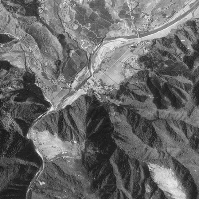 旧版空撮画像(1948/05/16(昭23)):羽後長戸呂駅周辺