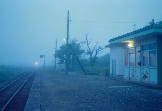 JR根室本線・初田牛駅(北海道:2001年8月