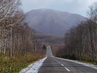 十勝地方・東ヌプカウシヌプリ(北海道:2002年11月)