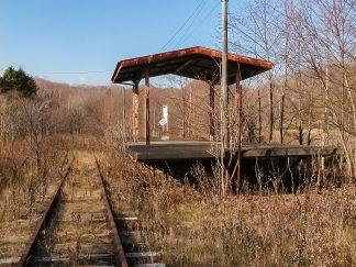 国鉄白糠線・上茶路駅(北海道:2002年11月)
