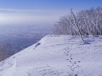 東ヌプカウシヌプリから望む十勝平野(北海道:2002年11月)