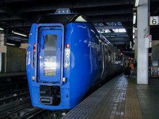 JR函館本線・札幌駅・特急「スーパーおおぞら」(北海道:2003年1月)