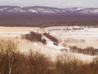 JR釧網本線・塘路~茅沼間(北海道:2003年2月)
