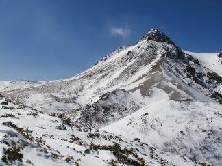 雌阿寒岳・剣ヶ峰(北海道:2003年3月)