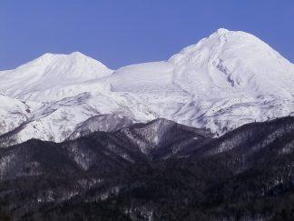 知床山系・羅臼岳(北海道:2003年3月)