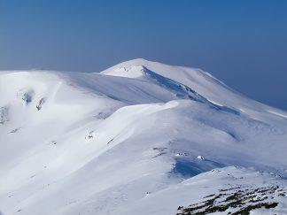 大雪山系・北鎮岳(北海道:2003年4月)