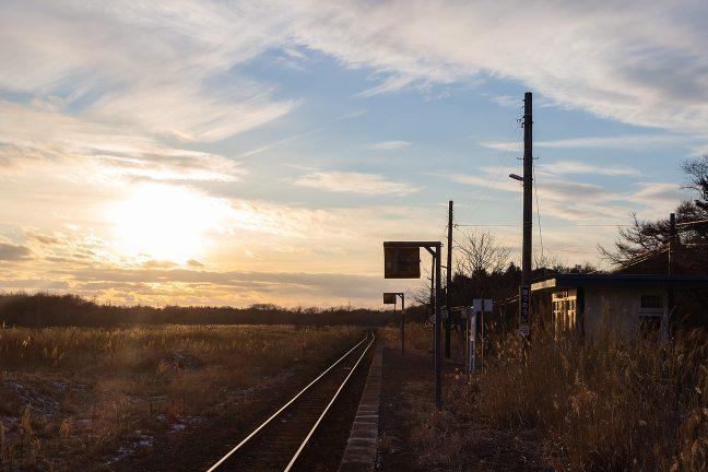 この駅で駅前野宿の一夜を過ごしてみたかった