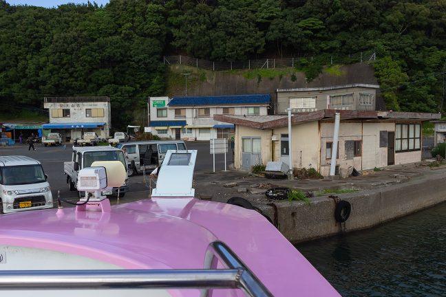 御座漁港の浜島航路乗り場