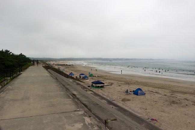 天候さえよければ気持ちの良い海岸サイクリングになっただろう
