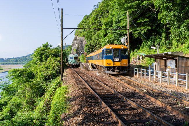 大井川鐡道大井川本線・神尾駅(静岡県:2017年6月)