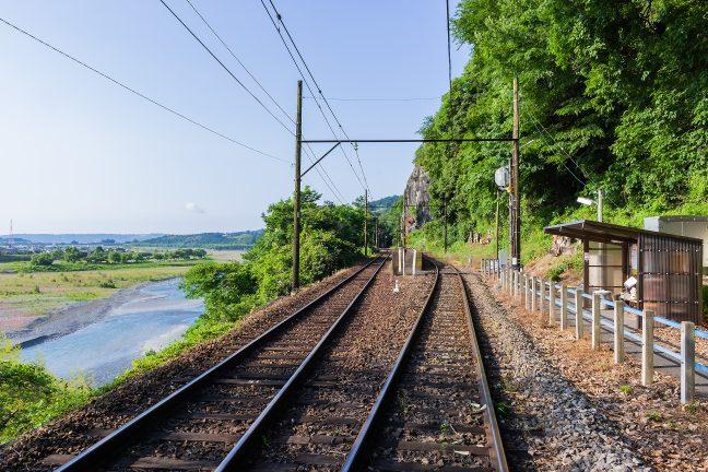 大井川鐵道大井川本線・神尾駅(静岡県:2017年6月)
