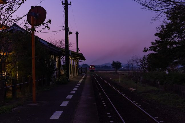 北条鉄道・法華口駅(兵庫県:2016年11月)
