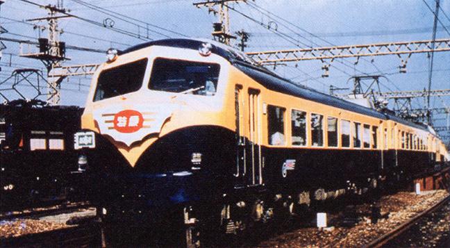 引用図:初代ビスタカー(10000系)「近畿日本鉄道 100年のあゆみ(近畿日本鉄道・2010年)」