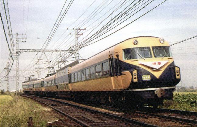 引用図:2代目ビスタカー(10100系)「近畿日本鉄道 100年のあゆみ(近畿日本鉄道・2010年)」