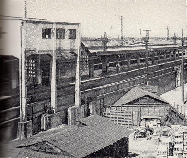 引用図:旧鶴橋駅「50年のあゆみ(近畿日本鉄道・1960年)」