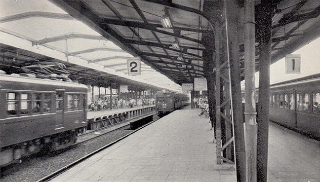 引用図:新鶴橋駅「50年のあゆみ(近畿日本鉄道・1960年)」